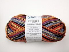 Supersocke 6-ply Caribbean Color  (discontinued)