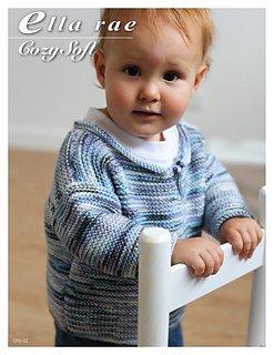 ER5-02 Boys Garter Stitch Sweater