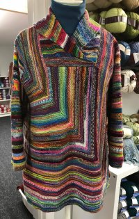 Quality in a square pattern at A Piece of Ewe Yarn Shop in Bay City MI