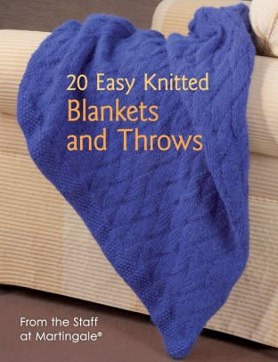 *20 Easy Knitted Blankets and Throws