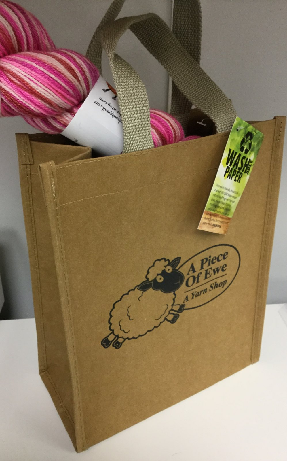 A Piece of Ewe Washable Paper Bags