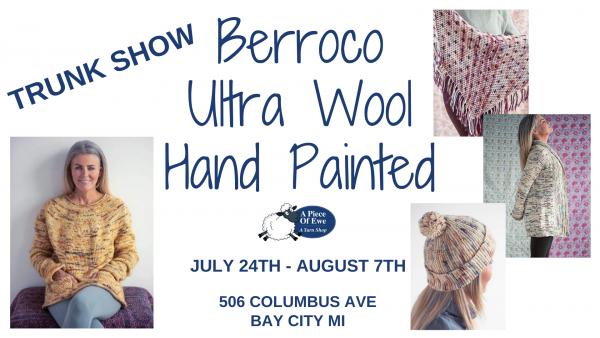 Berroco Ultra Wool Hand Painted Yarn Trunk Show