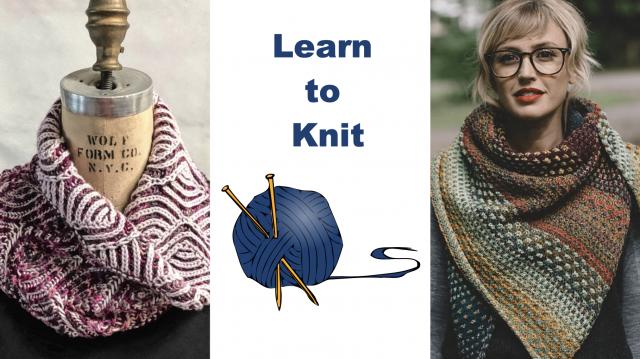New Knitting classes