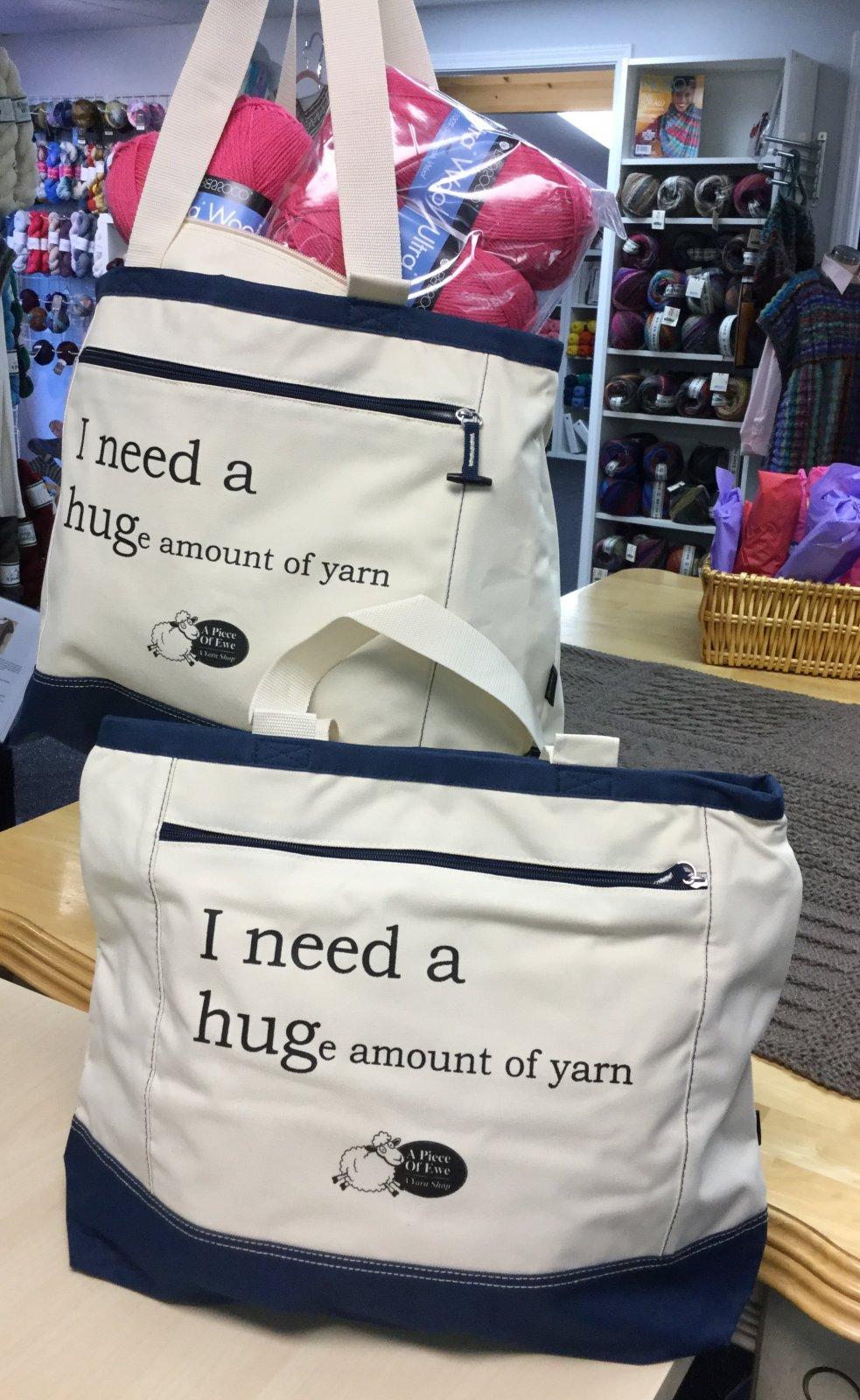 I NEED A HUGe amount of yarn project bag
