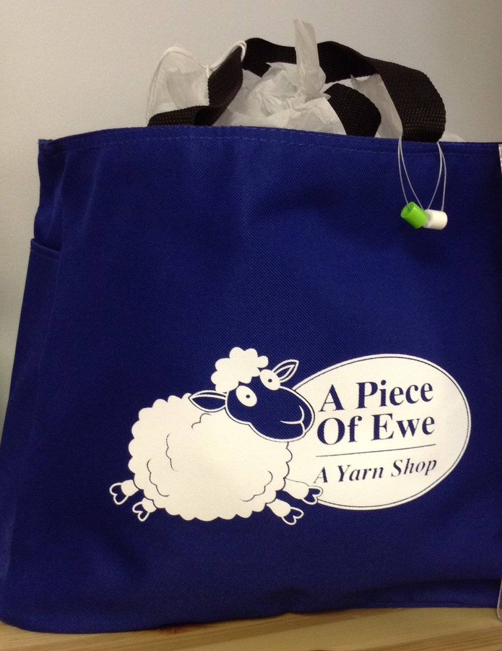 A Piece of Ewe Signature Blue Bag