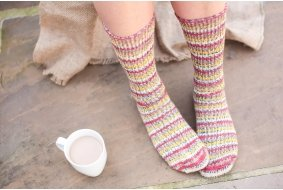 (West Yorkshire Spinners) Country Birds sock