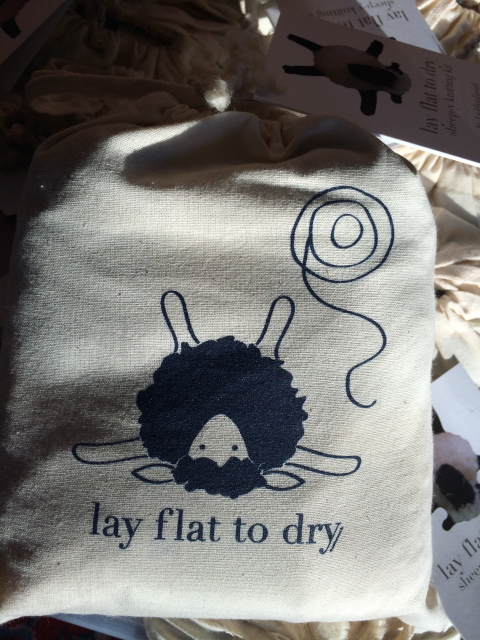 *Lay Flat to Dry project bags