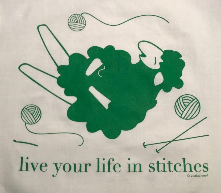 *Live Your Life In Stitches Project Bag