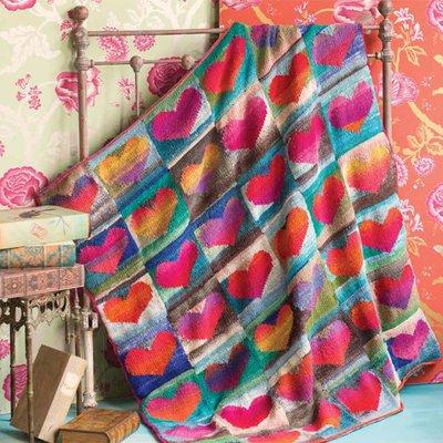 *Noro Heart Blanket - New price!