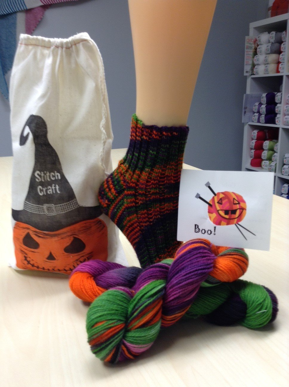 October Sock Kit