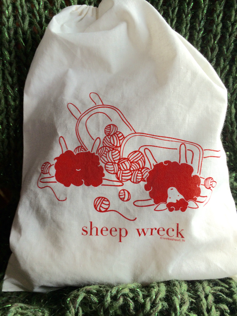 *Sheep Wreck Project Bag