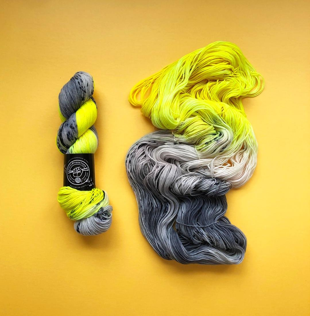 Color of the Month fingering/sock