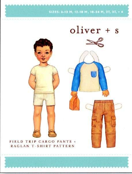 Field Trip Cargo Pants Pattern from Oliver + S