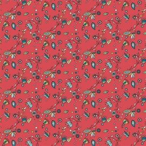 Breezy Floral (Poplin Fabric) for Birch #RG-28 Organic