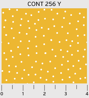 Dots in Gold from the Contours collection for P&B Textiles #CONT00256Y