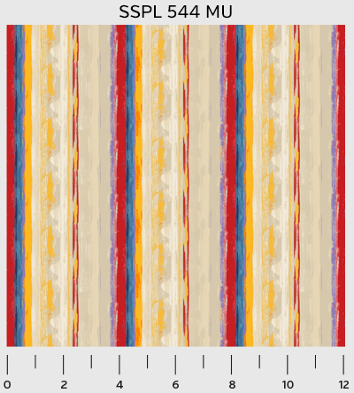 Stripe in Primary from the Silvia's Splendor collection for P&B Textiles #SSPL00544MU
