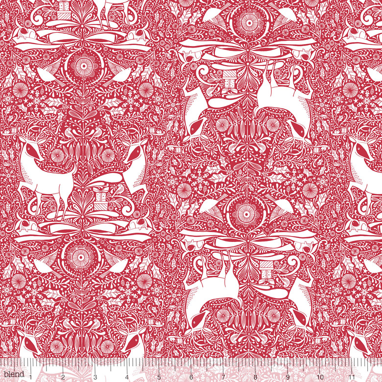 Gather in Red by Cori Dantini from the I Love Christmas collection for Blend #112.111.05.2
