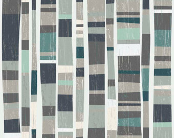 Knock Stripe in Dark Gray by Deena Rutter from the Knock on Wood collection for Riley Blake #C5434
