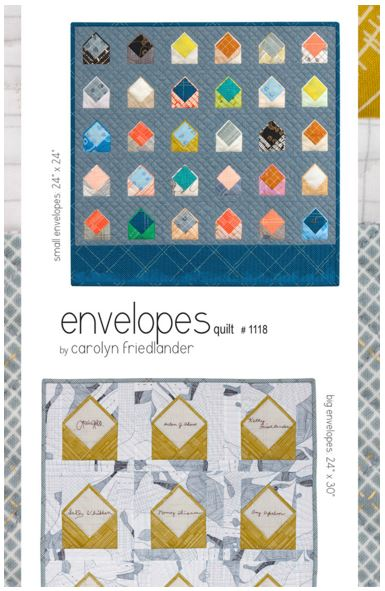 Envelopes Quilt from Carolyn Friedlander #CF1118