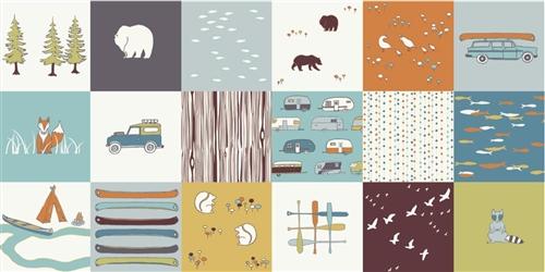 Camp Sur Patch by Jay-Cyn Designs for Birch #CS-10 Organic