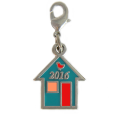 Row by Row 2016 Pin Peddlers Charm