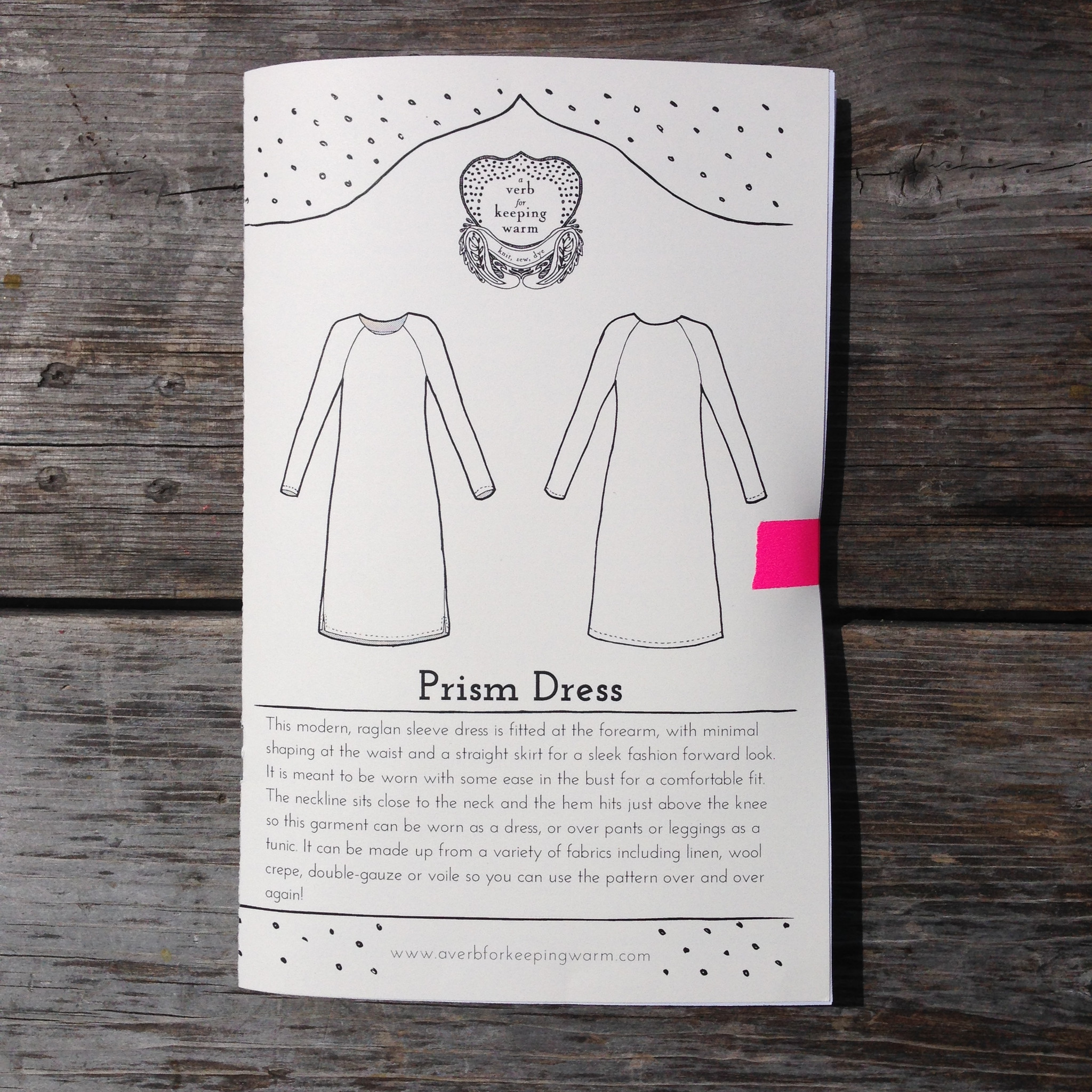 Prism Dress from A Verb for Keeping Warm