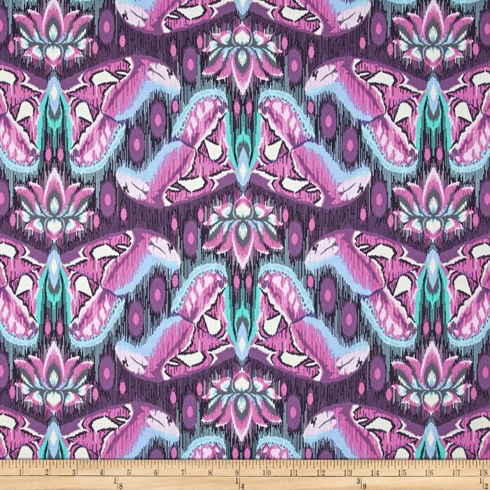 Atlas in Amethyst by Tula Pink from the Eden collection for Free Spirit #PWTP070.Ameth