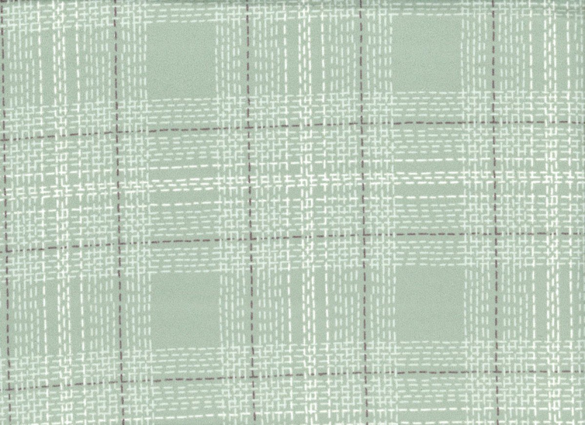 Dash Plaid in Spruce (Flannel Fabric) by Rae Ritchie from the Winter Cabin collection for Dear Stella #Stella-FRR769