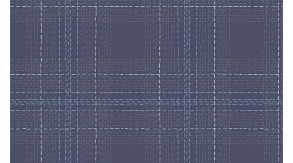 Dash Plaid in Twilight (Flannel Fabric) by Rae Ritchie from the Winter Cabin collection for Dear Stella #Stella-FRR769