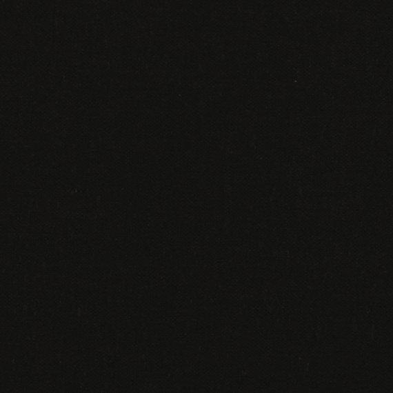Brussels Washer Linen in Black (Linen Blend Fabric) for Robert Kaufman B031-1019 BLACK