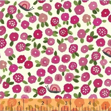 Flowers in Pink by Carolyn Gavin from the BFFs collection for Windham #50486-1
