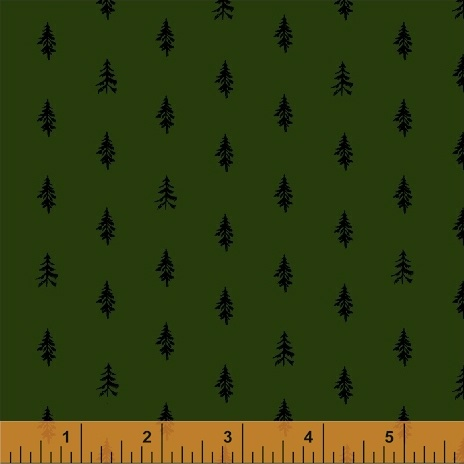 Trees in Forest by Heather Givans from the Night Hike collection for Windham #501320-10