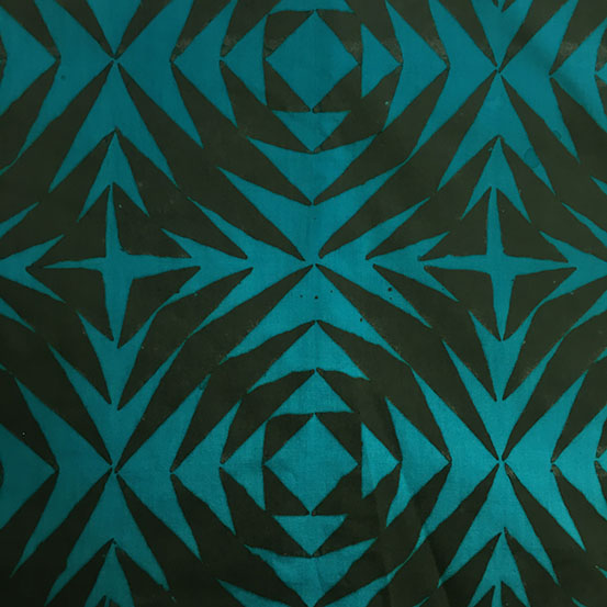 Pineapple in Lagoon by Alison Glass from the Handcrafted Patchwork collection for Andover #AB-8130-T