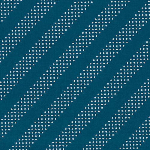 Dottie in Night Owl Metallic from the Basics collection for Cotton and Steel #C5002-012