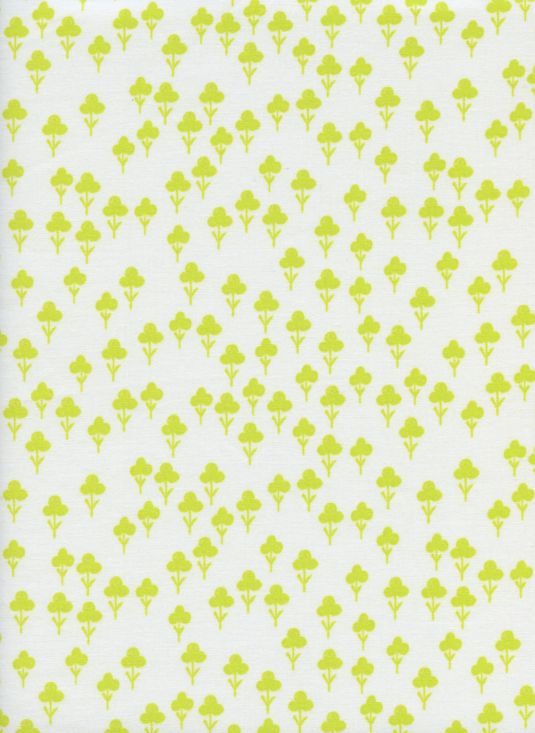 Clovers in Yellow by Sarah Watts from the Front Yard collection for Cotton and Steel #S 2073001
