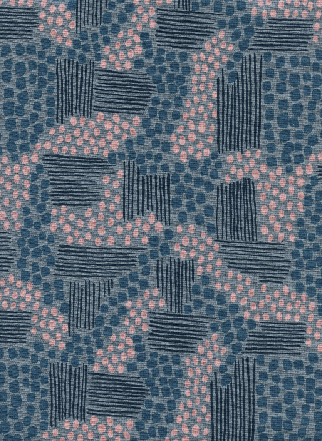 Aeriel View in Stone by Jen Hewitt from the Imagined Landscapes collection for Cotton and Steel #J9010-001