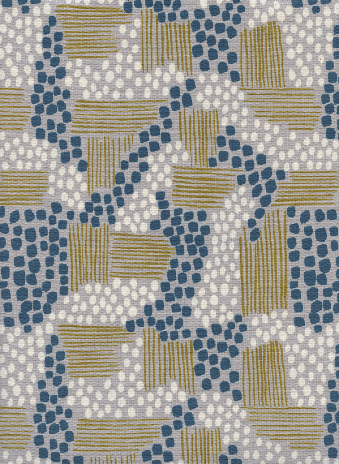 Aeriel View in Sand by Jen Hewitt from the Imagined Landscapes collection for Cotton and Steel #J9010-002