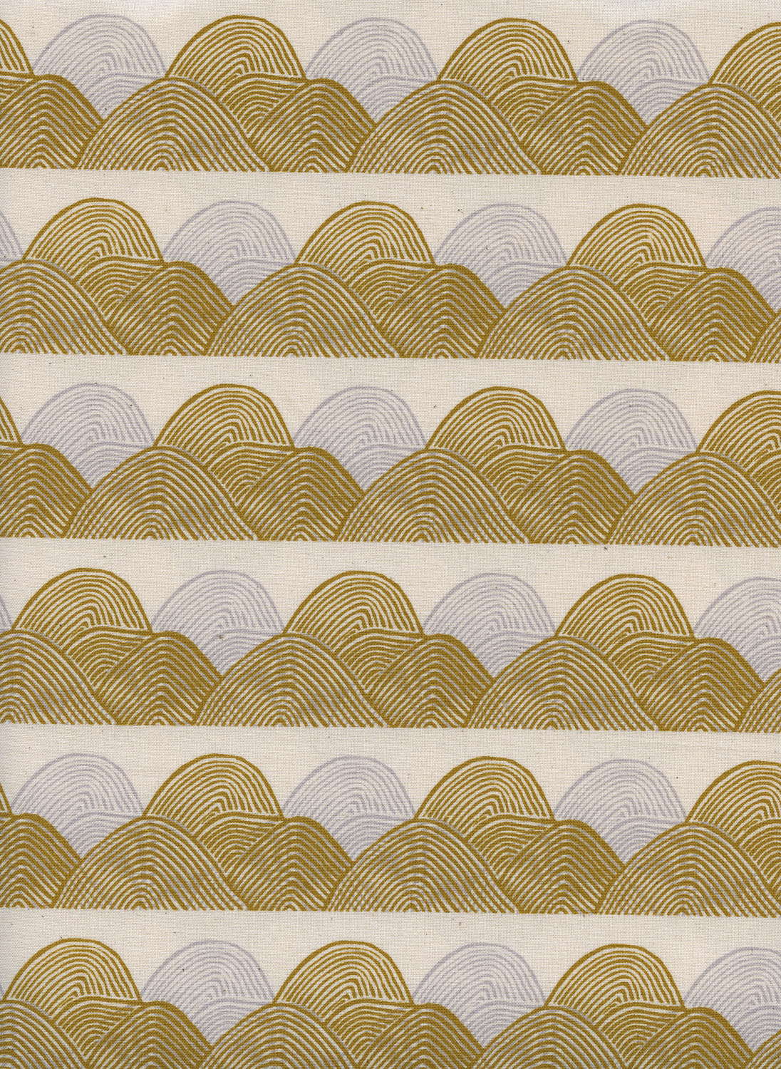 Headlands in Golden Hour by Jen Hewitt from the Imagined Landscapes collection for Cotton and Steel #J9013-002