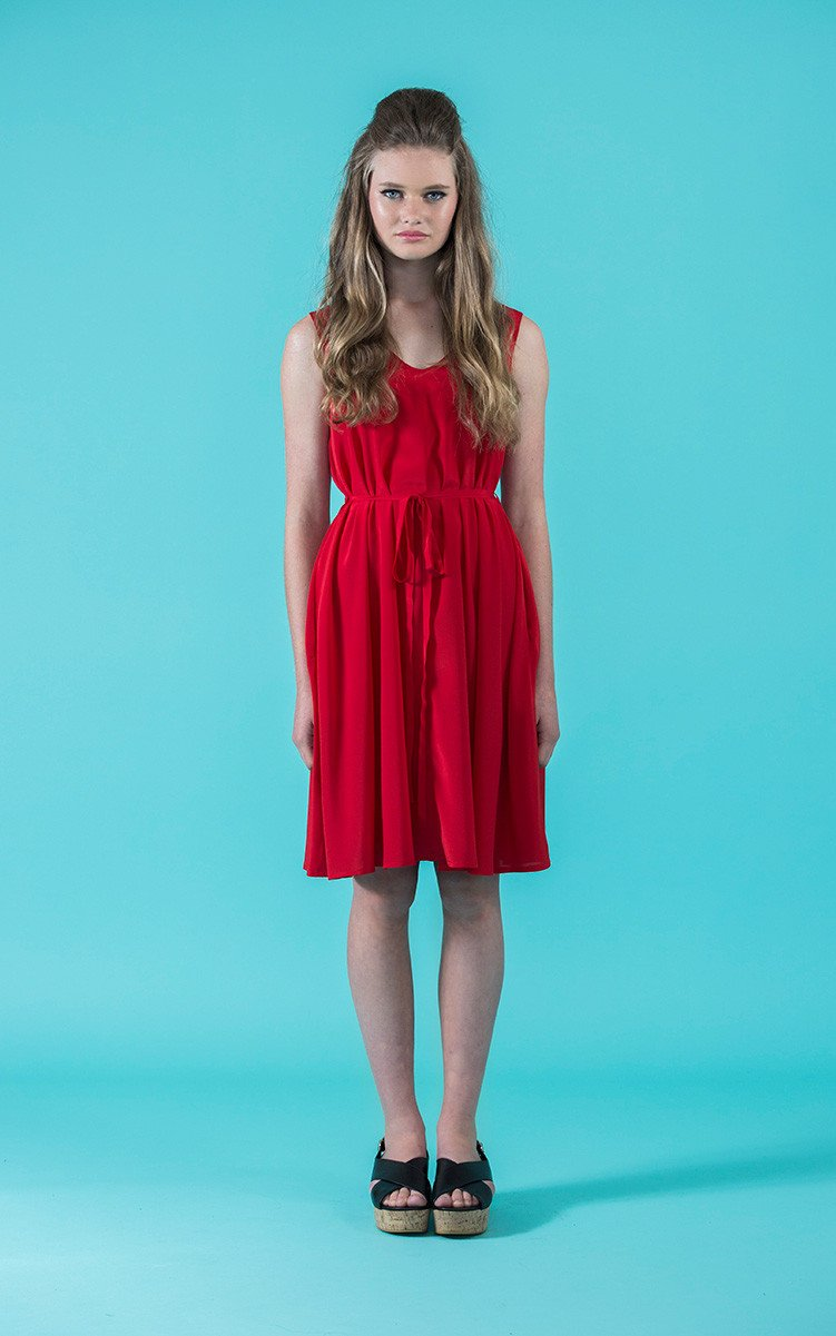 Sway Dress from Papercut Patterns