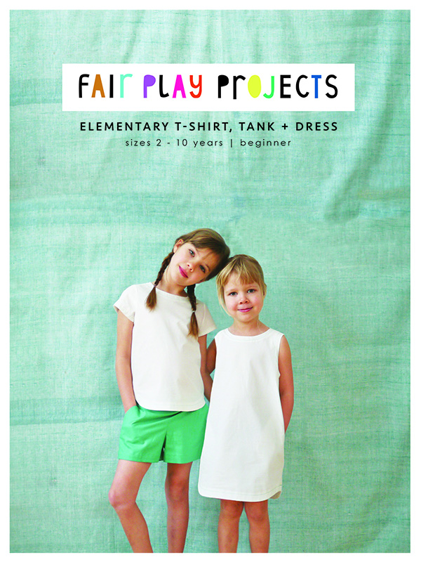Elementary T-Shirt, Tank + Dress from Fair Play Projects