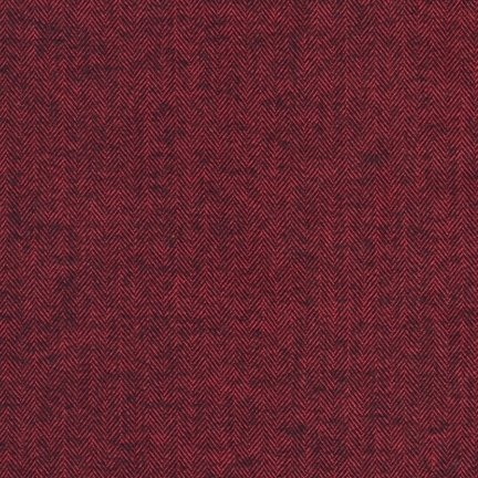 Herringbone Flannel in Redwood (Flannel Fabric) from the Shetland Collection for Robert Kaufman #SRKF13936222