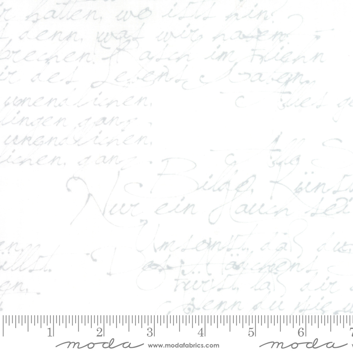 Handwriting 108 Wideback by Zen Chic from the Modern Background collection for Moda #11133 12