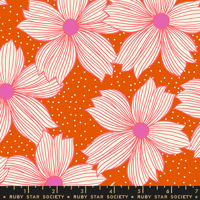 Pre-order: Night Bloom in Autumn by Sarah Watts from the Crescent and Brushed collection for Ruby Star Society #RS200411