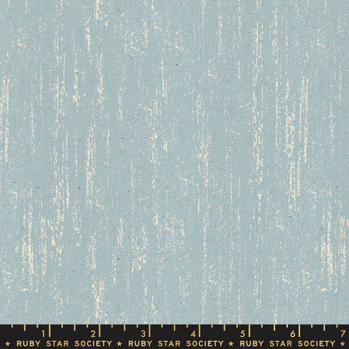 Pre-order: Brushed in Soft Blue by Sarah Watts from the Crescent and Brushed collection for Ruby Star Society #RS200516