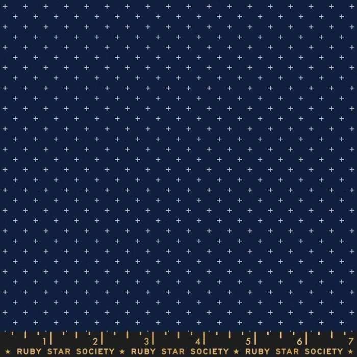 Pre-order: Add It Up in Navy by Alexia Abegg from the Alma and Add It Up collection for Ruby Star Society #RS400527