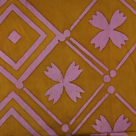 Tile in Goldenrod by Alison Glass from the Handcrafted Patchwork collection for Andover #AB-8134-Y