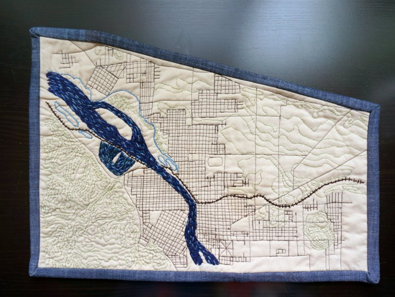 Map Quilt example