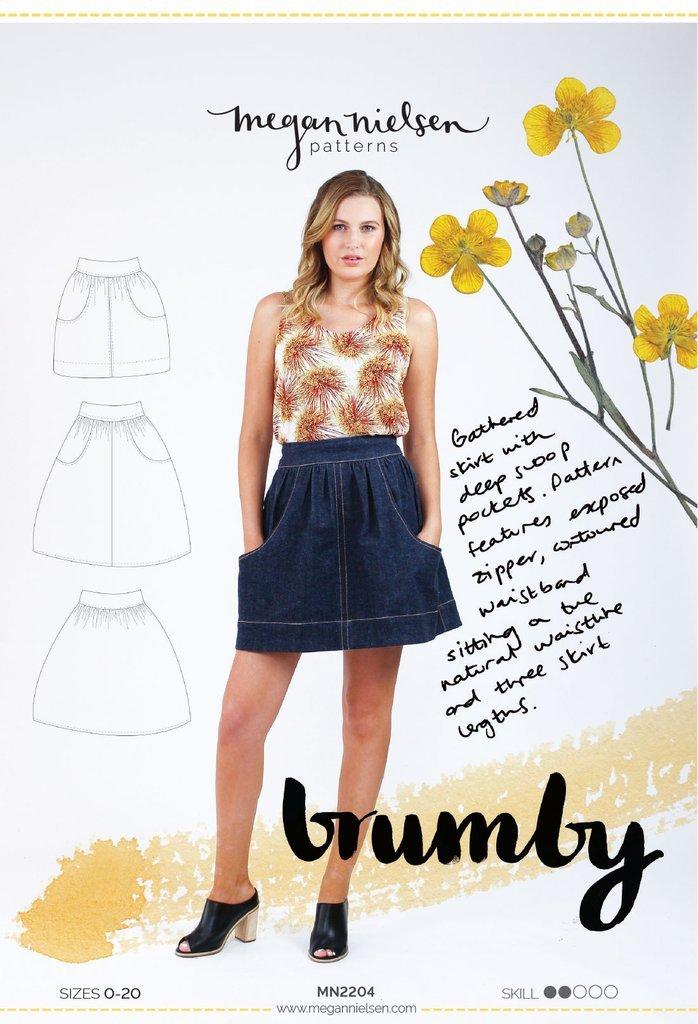 Brumby Skirt Paper Sewing Pattern by Megan Nielsen
