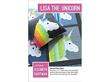 Lisa the Unicorn Pattern from Elizabeth Hartman