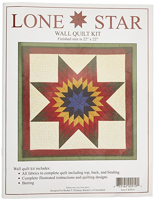 Lone Star Wall Quilt Pattern from Rachel Pellman